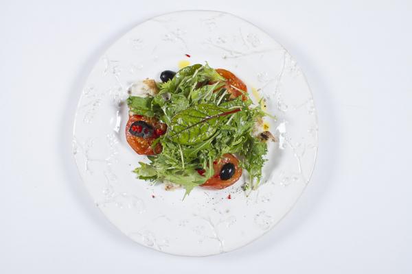 Girl`s Mix Белая Дача с пряными томатами конфи с маслинами