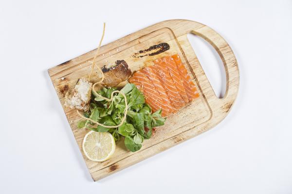 Корн Белая Дача с лососем и ароматом трюфеля