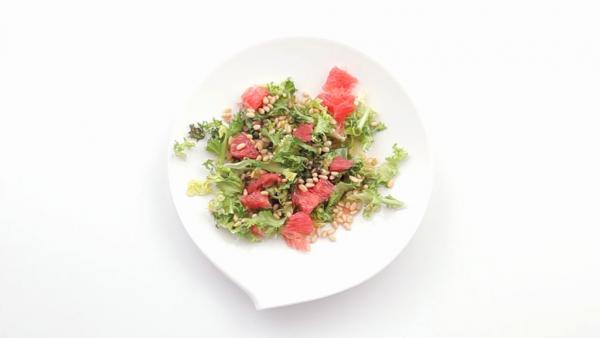 Легкий и полезный салат на завтрак с Фриссе