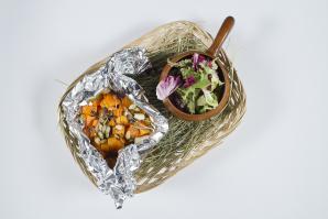 Салаты с отварными овощами: рецепты осени