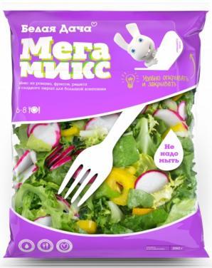 Ингредиенты готовых салатов