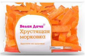Хрустящая морковка и «Цезарь ролл»