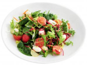 Витаминный салат - главное блюдо весны
