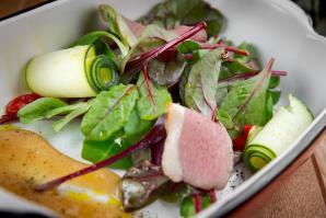 Витаминные салаты на новогоднем столе