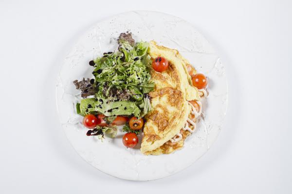 Монпелье Белая Дача с наивкуснейшим омлетом с копченым лососем и крем-чизом
