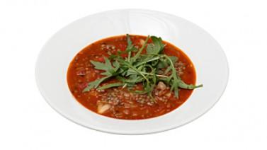 Перуанский суп из чечевицы