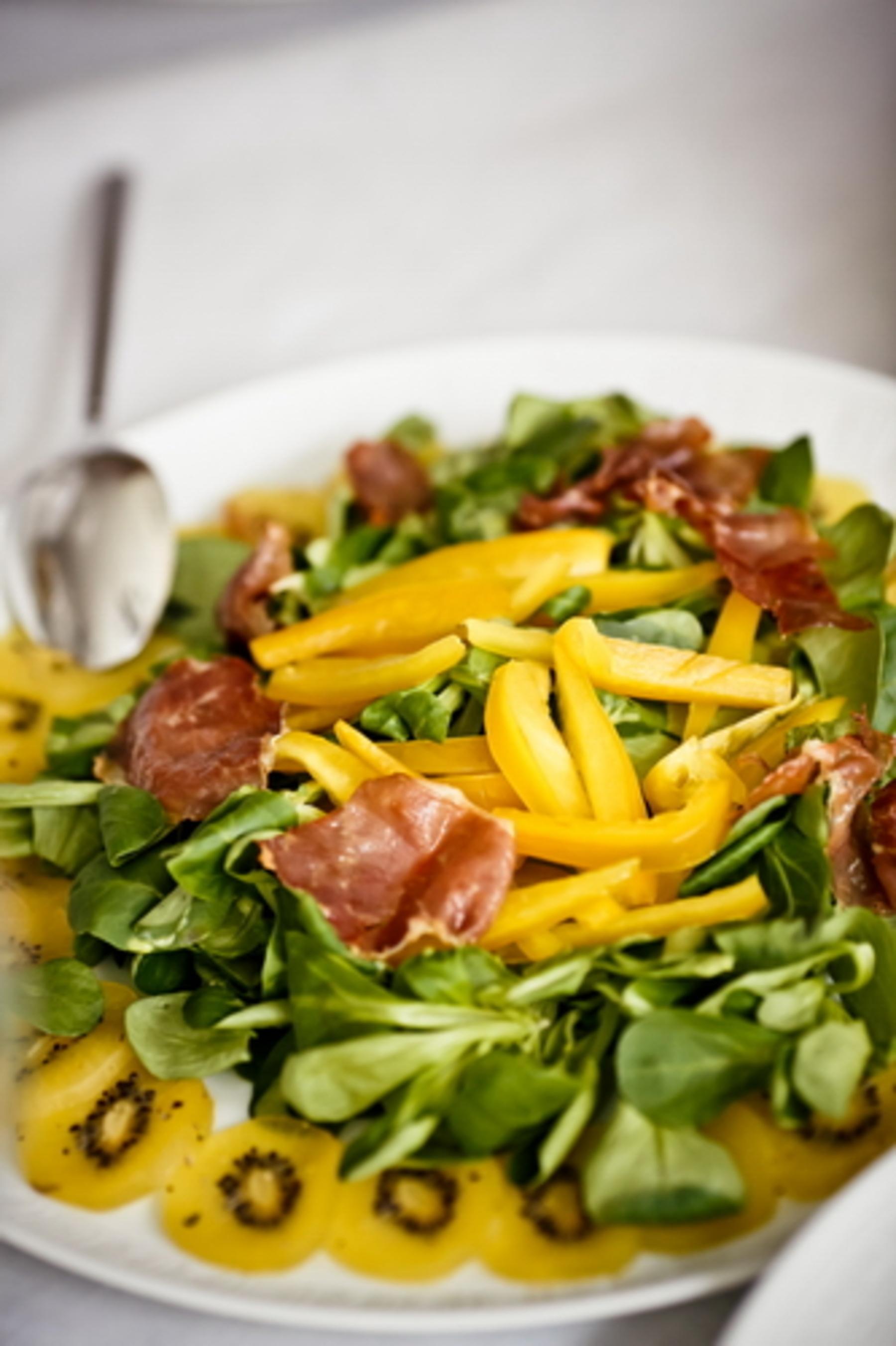 рецепты салатов с зелеными помидорами