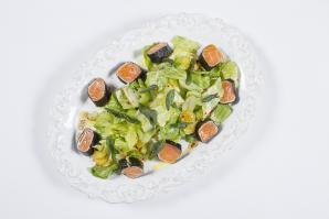 Осень - время теплых салатов