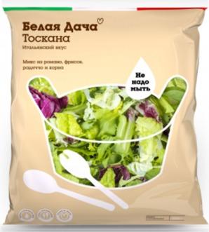 Рецепты салатов из смеси салатных листьев: летние варианты