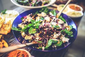 Весенние салаты: ингредиенты