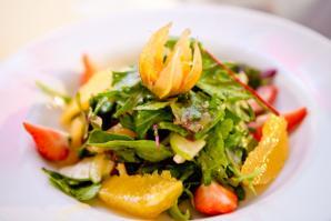 Вкусный здоровый салатик: все дело в заправке